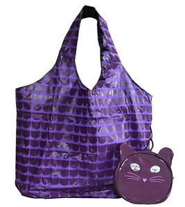 Katy Perry Purr Small Zipped Tote Bag (Purple) & Case