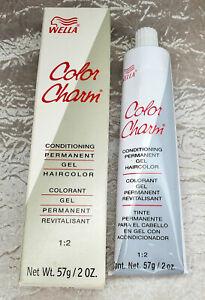 Wella  Conditioning Permanent Gel Haircolor 5WV Cinnamon EGGPLANT REDDISH BROWN