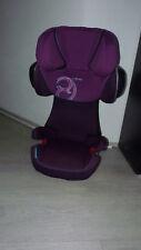 Cybex Solution X2-Fix Purple Potion-pink, Kinderautositz Gruppe II / III