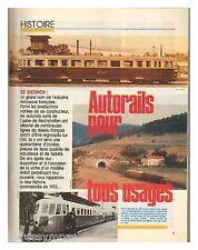 1986 : Document (Ref TR  2071) : AUTORAILS DE DIETRICH  ( 6 pages)