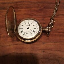 Working Imperial Pocket Watch With Chain 4594663 Philadelphia Watchcase Co.