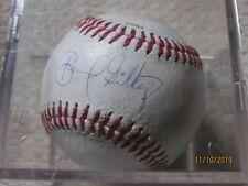 Bernard Gilkey St Louis Cardinals Autographed Baseball Encased in plastic