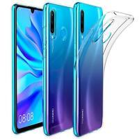 Handy Case für Huawei P30 Lite Hülle Transparent Schutz Tasche Handyhülle Cover