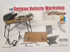 "Dragon Cyber Hobby 1/6 Scale 12"" WWII German Vehicle Workshop Set #71240"