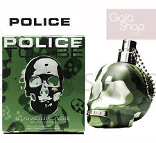 POLICE TO BE CAMOUFLAGE TESCHIO MILITARE EAU DE TOILETTE PROFUMO UOMO 125ML MAN