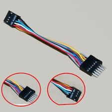 2x HD Audio 9Pin Female to 13Pin Male ATX Converter Cable For Lenovo Motherboard