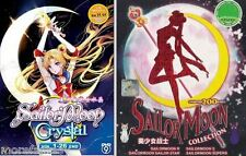 Sailor Moon Complete DVD (200 Episodes + 3 Movies) + Sailormoon Crystal