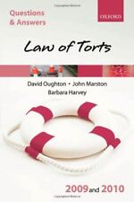 Q&A: Law of Torts 2009 and 2010,David Oughton, John Marston, Barbara Harvey