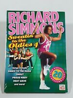 Richard Simmons: Sweatin' to the Oldies Vol. 4 Time Life 20th Anniversary DVD