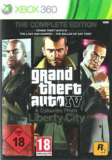X360 / Xbox 360 Spiel - GTA/Grand Theft Auto IV (4) Complete (mit OVP)