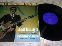 Roy Orbison Sings, Jerry Lee Lewis & Tommy Roe 1965 Vinyl LP  - ***SEE NOTES***