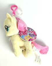 """NEW My Little Pony Fluttershy Clip on Plush Keychain Plush Toy 5"""" Collectible"""