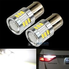 2X 720 Lumens 1156 High Power 5630 Chip LED White Reverse Back Up Lights Bulbs
