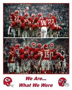 NFL Kansas City Chiefs Super Bowl Champs 1969 - 2019 Color 8 X 10 Photo Picture