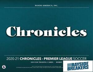 Manchester City 2020-21 Panini Chronicles Soccer Half Case (6 Box) Break #3
