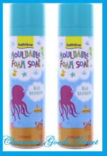 Bathtime Play Kids Mouldable Foam Soap Blue Raspberry 250ml x 2