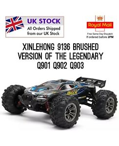 Xinlehong 9136 1/16 4WD 32cm Spirit Rc Car Off-road Truck not Q901,2,3 UK Stock