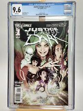 JUSTICE LEAGUE DARK #1 CGC 9.6 White pages 2011 DC Comics 1st Print