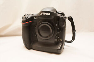 Nikon D4, USA Model, <45K on Shutter, Battery and Charger, Very Nice!