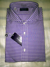 $425 NWT PURPLE LABEL RALPH LAUREN 15 38 gingham check Keaton cotton dress shirt