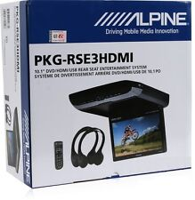 "ALPINE PKG-RSE3HDMI +2YR WARANTY CAR  NEW 10.1"" OVERHEAD MONITOR WITH DVD PLAYER"