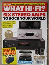 What Hi-Fi November 2016 Audiolab Cyrus Rega Rotel amplifiers Wireless Speakers