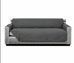 Sofa Shield Original Patent Pending Reversible Large Sofa Protector Many Gray