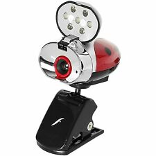 Webcam w/ Microphone Ladybug Night Vision Effects Zoom Face Tracking camera New