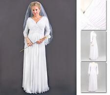NEW!  Zaftique MAGNOLIA GOWN Wedding Dress WHITE (Last Ones!) 2Z / 20 22 / 2X