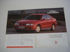 advertising Pubblicità 1996 MITSUBISHI CARISMA
