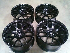 "Porsche Ruger Mesh Black 20"" wheels rims 911/987/997/996 Cayman Carrera Turbo"