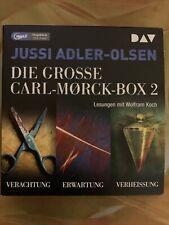 Die große Carl-Morck-Box 2 von Jussi Adler-Olsen.    (3 Hörbücher)