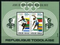 Togo MiNr. Block 90 postfrisch MNH Olympiade 1972 (Oly501