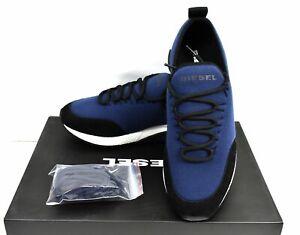 Diesel S-KB SL Y01917-P2166-H7111 Mens Green Canvas Athletic Running Shoes