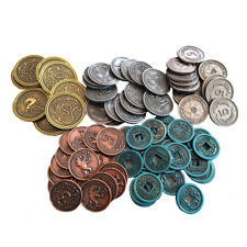 Scythe Board Game Metal Coins NEW