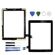 Für iPad 2 Schwarz Display Ersatzteil Touch Screen Scheibe Digitizer Front Glas