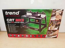 BRAND NEW TREND CRT/MK3 CRAFTSMAN ROUTER TABLE 240V