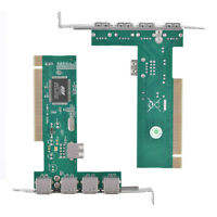 PCI-E PCI Express To USB2.0 5Port Expansion Card Adapter for Desktop PC GF