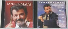 James Galway CD Greatest Hits / Wind Beneath My Wings Pops Orchestra (Lot of 2)
