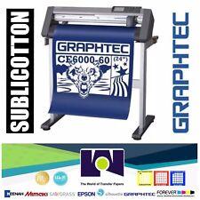 """Bundle: 24"""" Graphtec CE6000-60 PLUS Vinyl Cutter/Plotter + SUBLICOTTON 24""""x50'"""