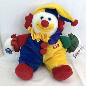 "Applause Clown Circus Plush Doll 12"" Head to Toe ~ Marcel Les Petits"
