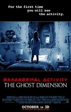 Paranormal Activity Ghost Dimension - original DS movie poster - 27x40 D/S