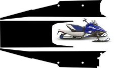 YAMAHA SNOSCOOT TUNNEL GRAPHICS wrap decals sticker ES 200 kids sled 2018 2019 1