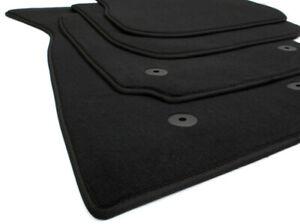 Fußmatten für AUDI A4 B5 Bj.1994-1998 beste Qualität Velours 4 tlg x Schwarz
