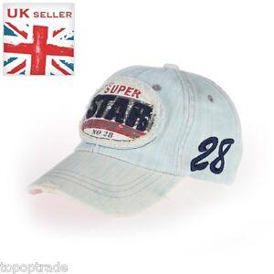 Sport jean brushed Super Star Adult  baseball sunhat cap