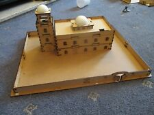 15mm Large Adobe Mosque or Russian Admin Block Building Scenery MDF 420x332mm
