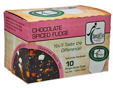 Chocolate Spiced Fudge Black Tea Single Serve Cups (Keurig compatible) 10 Count