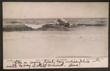 The Lifeboat on the Crest 1905 Illust. Post Card Co., NY 3125