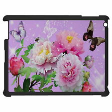 Flowers And Butterflies Tablet Case Cover For Apple Google Samsung