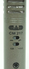 CAD CM217 PRO AUDIO SMALL DIAPHRAGM CONDENSER MICROPHONE NEW FREE SHIP 48 STATES